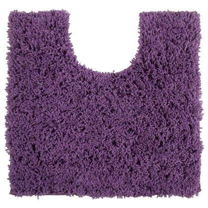 Коврик для туалета Sensea Twist 55х55 см микрофибра цвет бордо