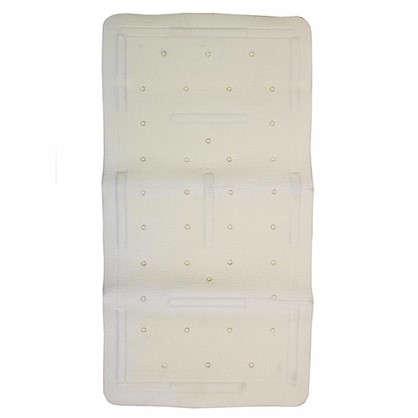 Купить Коврик для ванны 36х71 см цвет белый дешевле