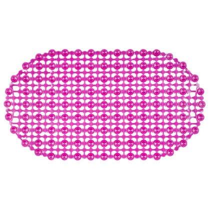 Коврик для ванны антискользящий Комфорт 36х65 см цвета в ассортименте