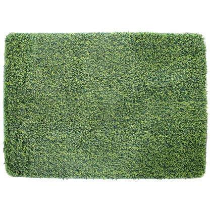 Коврик для ванной Amadeo 50x70 см цвет зелёный цена