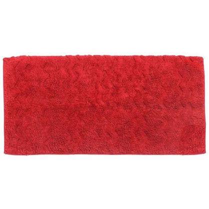 Коврик для ванной Casa 50х80 см цвет красный