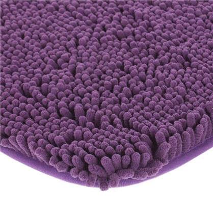 Коврик для ванной Cingolo 50х80 см цвет фиолетовый