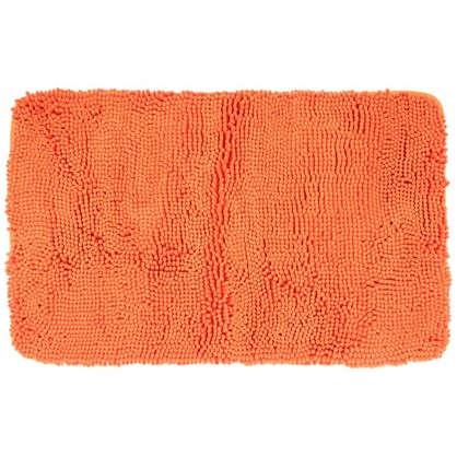 Купить Коврик для ванной Cingolo 50х80 см цвет оранжевый дешевле