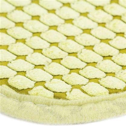 Коврик для ванной Corn 40х60 см цвет светло-зелёный