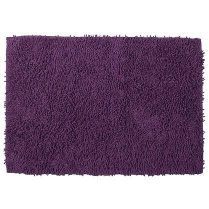 Коврик для ванной Crazy 50x70 см цвет фиолетовый