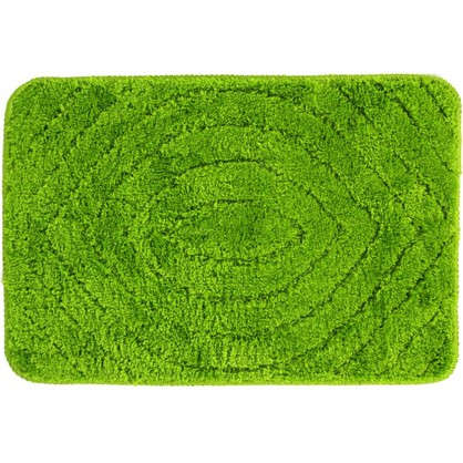 Коврик для ванной Eye 40х60 см цвет зелёный