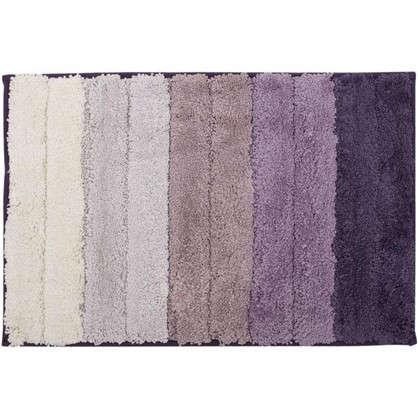Купить Коврик для ванной Градиент 40х60 см цвет фиолетовый дешевле