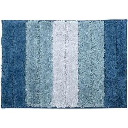 Коврик для ванной Градиент 40х60 см цвет голубой