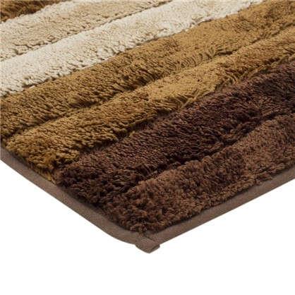 Коврик для ванной Градиент 40х60 см цвет коричневый