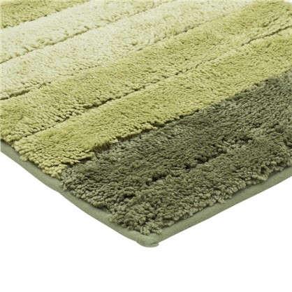 Коврик для ванной Градиент 40х60 см цвет зелёный
