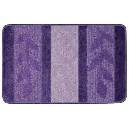 Коврик для ванной Hurrem 50х80 см цвет фиолетовый