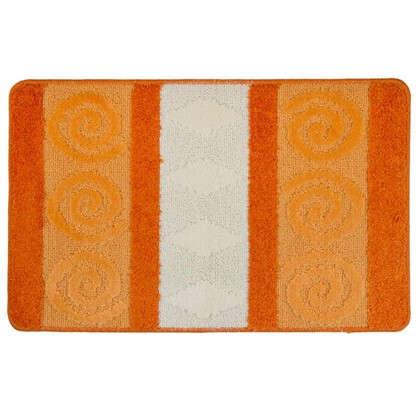 Коврик для ванной Hurrem 50х80 см цвет оранжевый