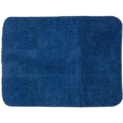 Коврик для ванной Lounge 50х70 см цвет синий