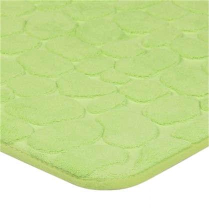 Коврик для ванной Luxury 45х75 см цвет зелёный