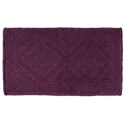 Коврик для ванной Meknes 60х90 см цвет фиолетовый