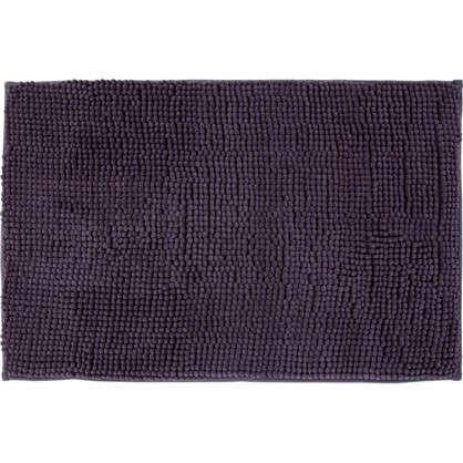 Коврик для ванной Merci 45х70 см цвет антрацит
