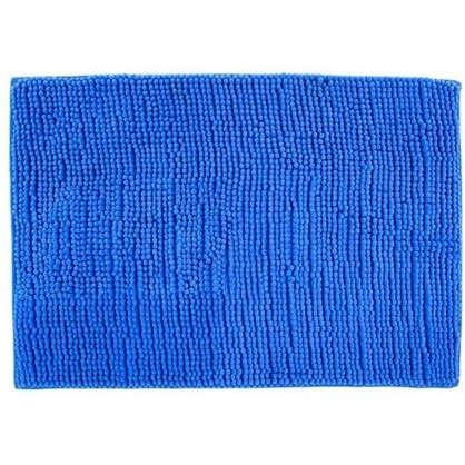 Коврик для ванной Merci 45х70 см цвет синий