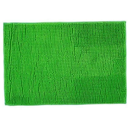 Коврик для ванной Merci 45х70 см цвет зелёный