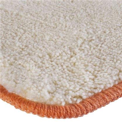 Купить Коврик для ванной Sand 80х50 см цвет бежевый дешевле