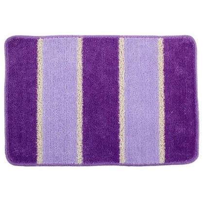 Купить Коврик для ванной Sera цвет фиолетовый дешевле