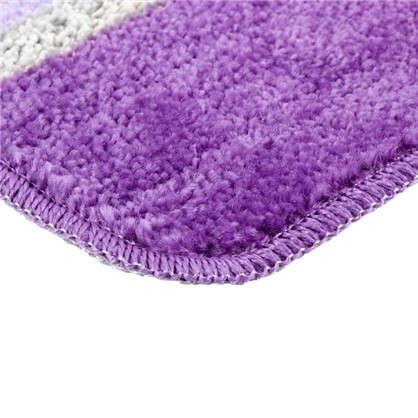 Коврик для ванной Sera цвет фиолетовый