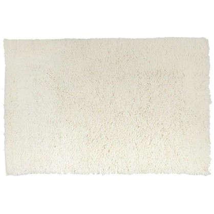 Купить Коврик для ванной Twist 60х90 см цвет белый дешевле