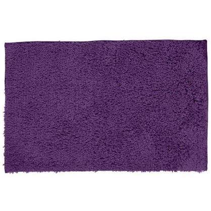 Коврик для ванной Twist 60х90 см цвет фиолетовый цена