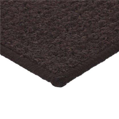 Коврик Лиссабон 50x80 см нейлон цвет коричневый