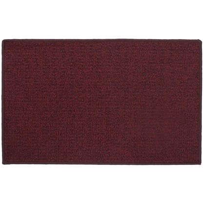 Купить Коврик Лиссабон 50x80 см нейлон цвет красный дешевле