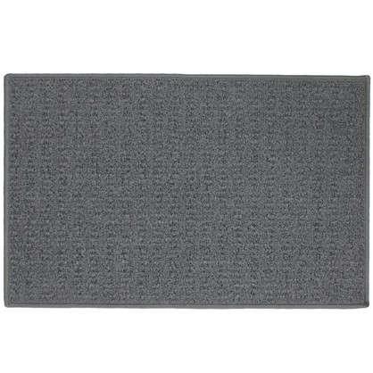 Купить Коврик Лиссабон 50x80 см нейлон цвет серый дешевле