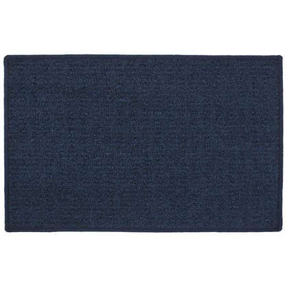 Купить Коврик Лиссабон 50x80 см нейлон цвет синий дешевле