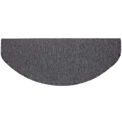 Коврик полипропиленовый на ступеньки 28х65 см цвет серый