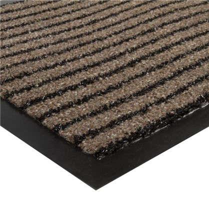 Купить Коврик придверный Grattant полипропилен/ПВХ  40x60 см цвет коричневый дешевле