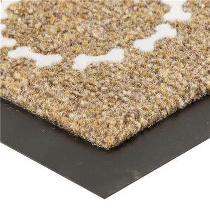 Купить Коврик придверный Moscow Flock полипропилен 40х60 см дешевле
