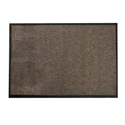 Купить Коврик придверный Olympia полипропилен 80х120 см цвет коричневый дешевле