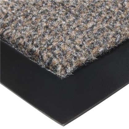 Коврик придверный Olympia полипропилен 90x150 см цвет коричневый