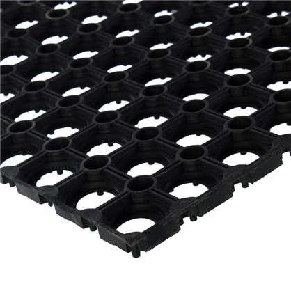 Купить Коврик придверный резина 16 мм 80x120 см дешевле