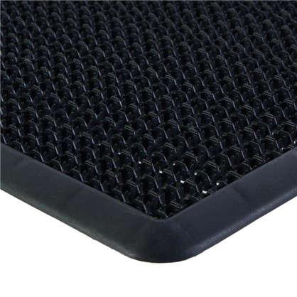 Купить Коврик придверный Step On полиэтилен 57x43 см цвет коричневый дешевле