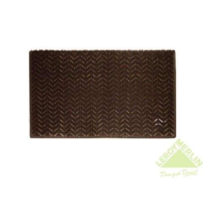 Коврик придверный Травка Zebramat полиэтилен 40х60 см  цвет коричневый