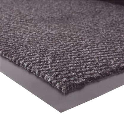 Коврик Step полипропилен 90x150 см цвет серый