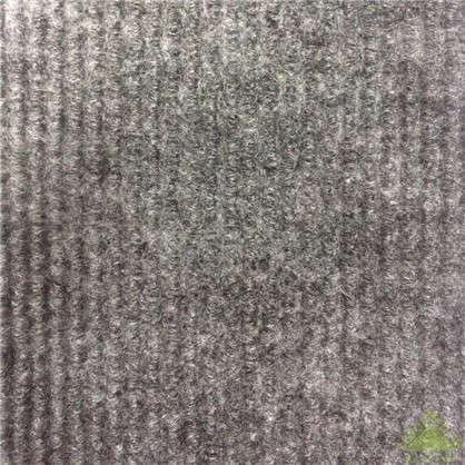 Ковролин ФлорТ Экспо латекс 2 м цвет темно-серый
