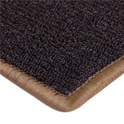 Купить Ковролин Хальброн 069 4 м цвет коричневый дешевле