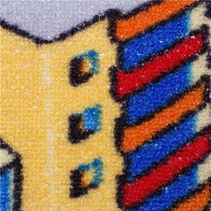 Купить Ковролин Нева Тафт Мегаполис 950 принт детский 2.5 м цвет серый дешевле