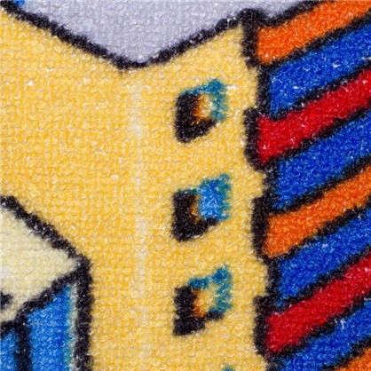 Купить Ковролин Нева Тафт Мегаполис 950 принт детский 4 м цвет серый дешевле