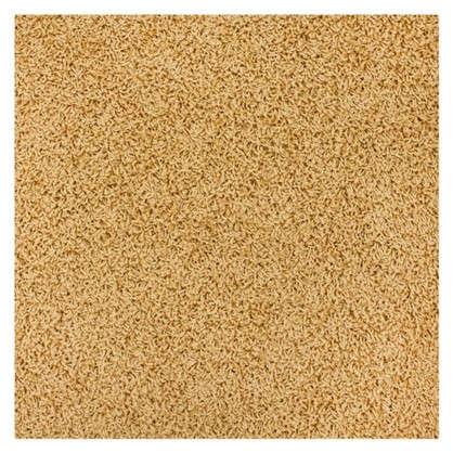 Купить Ковролин Noventis Lyon 330 ворсовое шегги 4 м цвет золотой дешевле