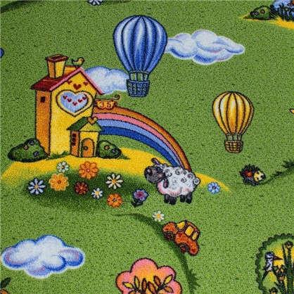 Ковролин Воздушные шары 170 полиамид 3 м цвет зелёный