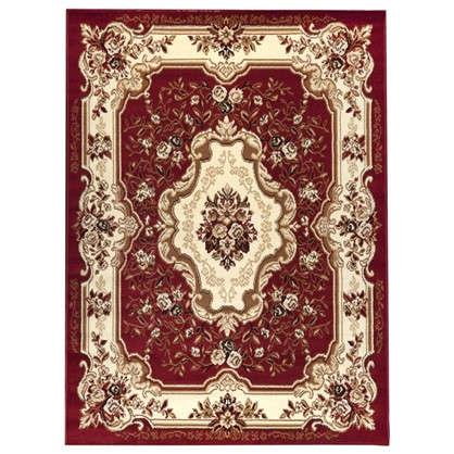 Ковер Лагуна 1.5х1.9 м полипропилен цвет красный