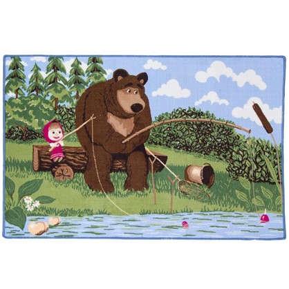 Коврик Маша и Медведь рыбалка размер 1х15 м