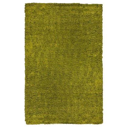 Купить Ковер Shaggy Ultra 1.5х2.3 м полипропилен цвет зеленый дешевле