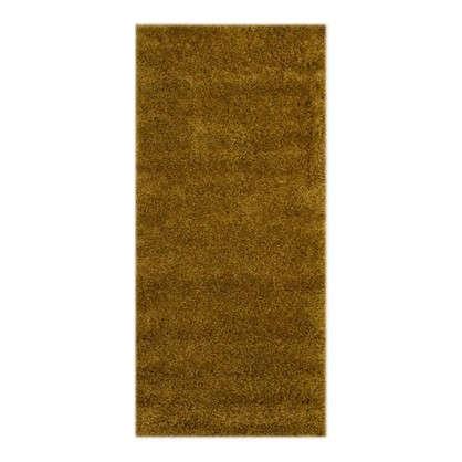 Купить Ковер Shaggy Ultra 1х2 м полипропилен цвет темно-бежевый дешевле
